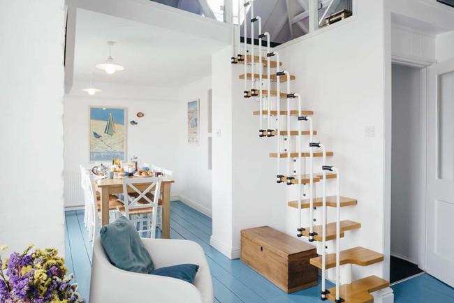 14 mẫu thiết kế cầu thang cho nhà có gác lửng, vừa tiết kiệm diện tích vừa làm duyên cho nhà nhỏ - Ảnh 2.