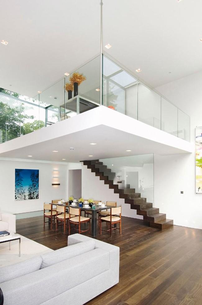 14 mẫu thiết kế cầu thang cho nhà có gác lửng, vừa tiết kiệm diện tích vừa làm duyên cho nhà nhỏ - Ảnh 5.