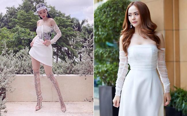 Cùng một chiếc váy: Angela Phương Trinh lồng lộn, Minh Hằng lại quá bánh bèo - Ảnh 5.