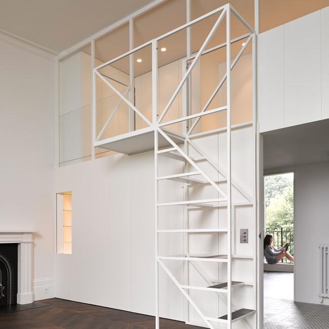 14 mẫu thiết kế cầu thang cho nhà có gác lửng, vừa tiết kiệm diện tích vừa làm duyên cho nhà nhỏ - Ảnh 13.