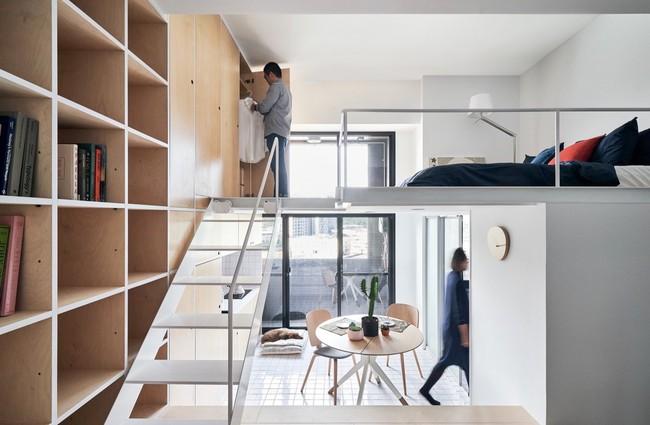 14 mẫu thiết kế cầu thang cho nhà có gác lửng, vừa tiết kiệm diện tích vừa làm duyên cho nhà nhỏ - Ảnh 14.