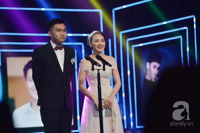 Cặp đôi Bảo Thanh - Mr Cần Trô Xuân Nghị pha trò nhạt nhẽo và khó hiểu tại VTV Awards - Ảnh 3.