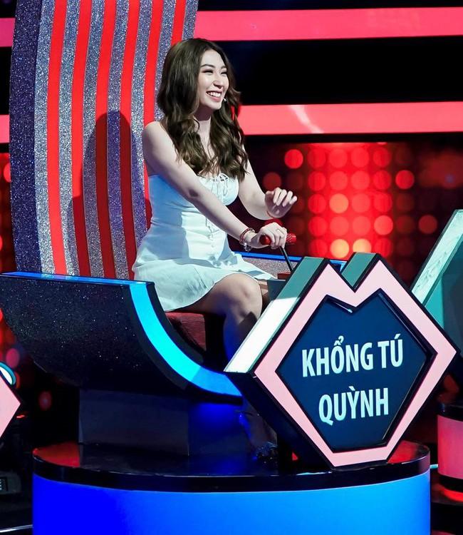 Khổng Tú Quỳnh từ chối chàng trai 6 múi vì sợ Ngô Kiến Huy ghen - Ảnh 4.