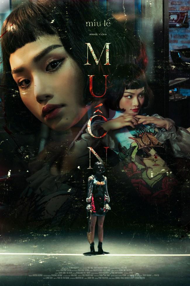 Bà nội Miu Lê hóa thân thành ma xẻng khiến khán giả không hiểu đang đóng MV hay phim kinh dị - Ảnh 4.