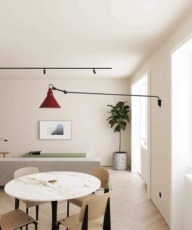 2 căn hộ nhỏ nhưng vô cùng đỉnh cao cho sự kết hợp giữa phong cách tối giản và phong cách Scandinavian  - Ảnh 4.