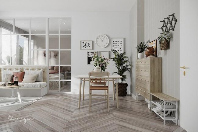 2 căn hộ nhỏ nhưng vô cùng đỉnh cao cho sự kết hợp giữa phong cách tối giản và phong cách Scandinavian  - Ảnh 10.