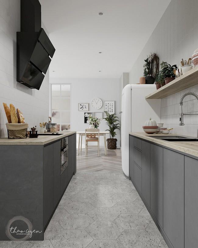 2 căn hộ nhỏ nhưng vô cùng đỉnh cao cho sự kết hợp giữa phong cách tối giản và phong cách Scandinavian  - Ảnh 12.