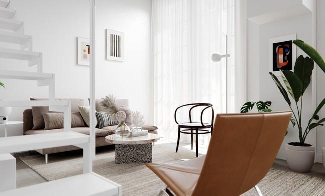 Căn hộ với sự kết hợp hoàn hảo giữa màu xanh của lá và màu trắng của phong cách Scandinavian - Ảnh 4.