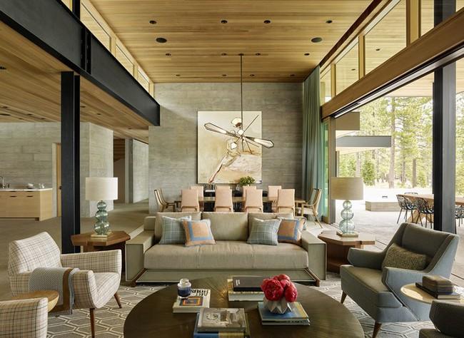 Đèn thả trần - xu hướng nội thất phòng khách 2019 để bạn lựa chọn cho gia đình - Ảnh 2.