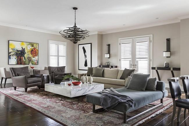Đèn thả trần - xu hướng nội thất phòng khách 2019 để bạn lựa chọn cho gia đình - Ảnh 7.