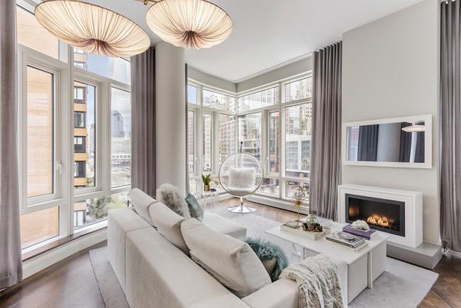Đèn thả trần - xu hướng nội thất phòng khách 2019 để bạn lựa chọn cho gia đình - Ảnh 10.