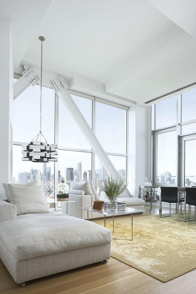 Đèn thả trần - xu hướng nội thất phòng khách 2019 để bạn lựa chọn cho gia đình - Ảnh 11.