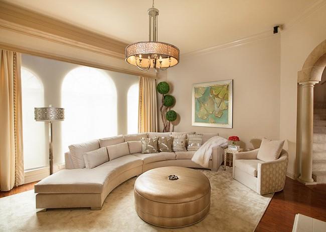 Đèn thả trần - xu hướng nội thất phòng khách 2019 để bạn lựa chọn cho gia đình - Ảnh 13.