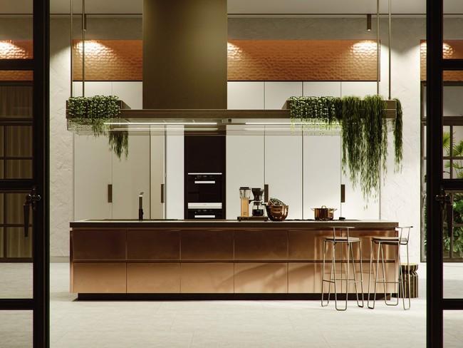 Những gợi ý trang trí góc bếp sang trọng, bừng sáng đón Xuân an vui đang về (P1) - Ảnh 14.