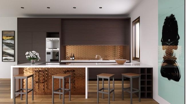 Những gợi ý trang trí góc bếp sang trọng, bừng sáng đón Xuân an vui đang về (P1) - Ảnh 20.