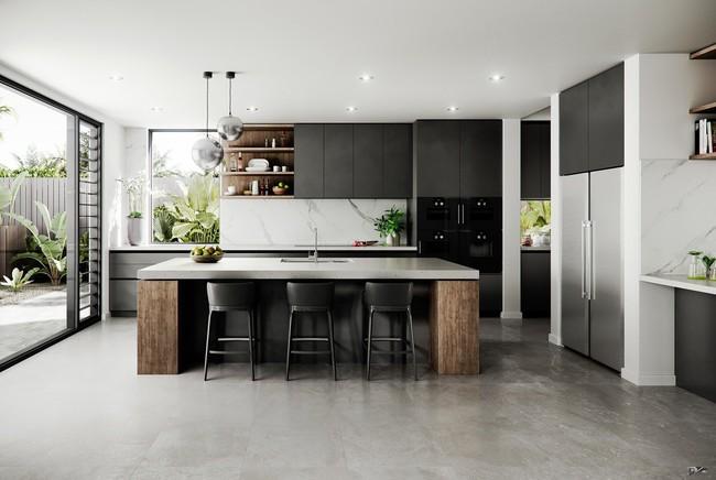 Những gợi ý trang trí góc bếp sang trọng, bừng sáng đón Xuân an vui đang về (P1) - Ảnh 24.