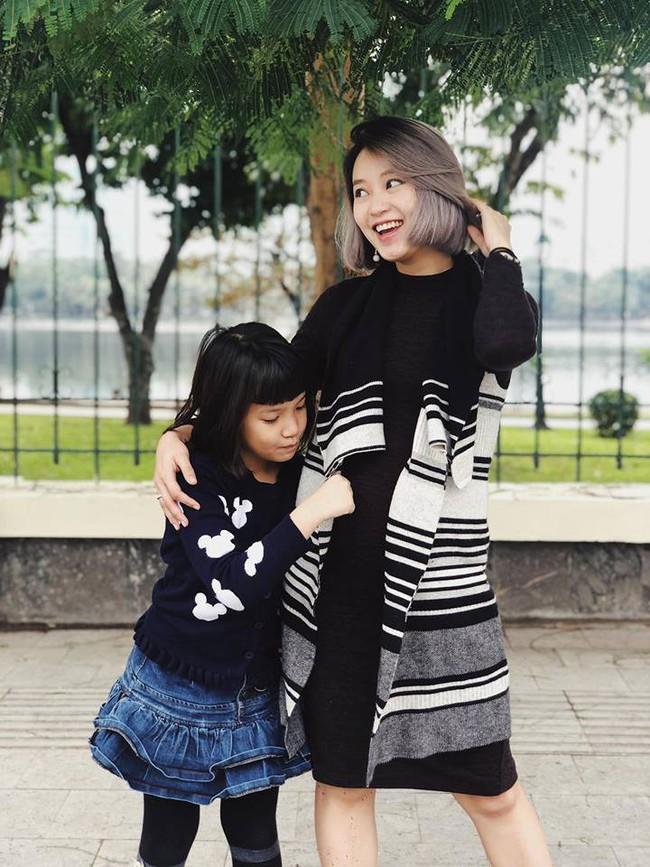 Đúng là cựu hot girl đời đầu, vác bụng bầu xuống phố mà Mi Vân vẫn xinh đẹp nức lòng như thế này - Ảnh 5.