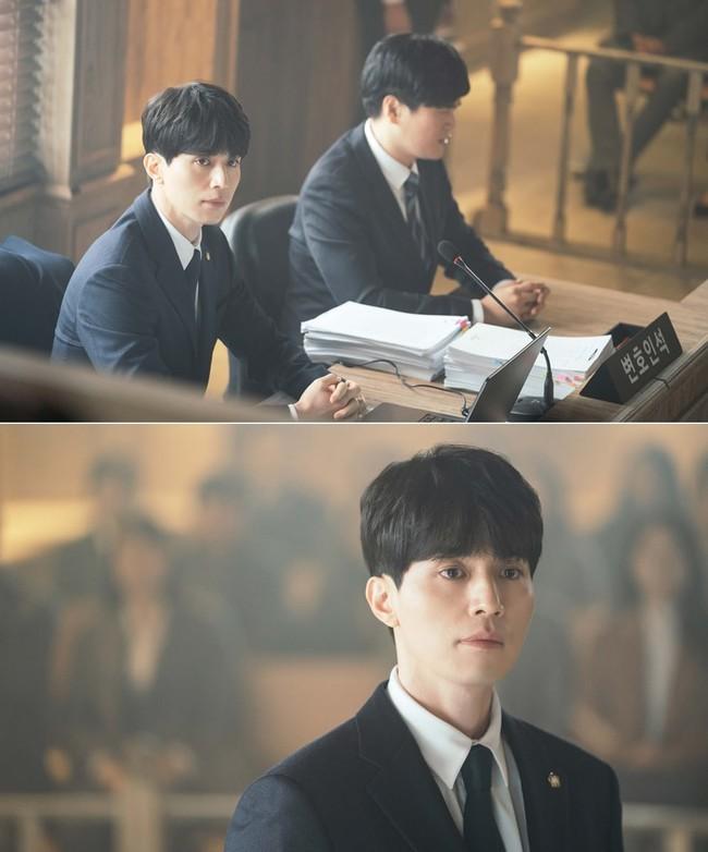Chán hóa thân thành thần chết, bác sĩ, Lee Dong Wook tiếp tục đốn tim fan bằng hình tượng luật sư - Ảnh 5.
