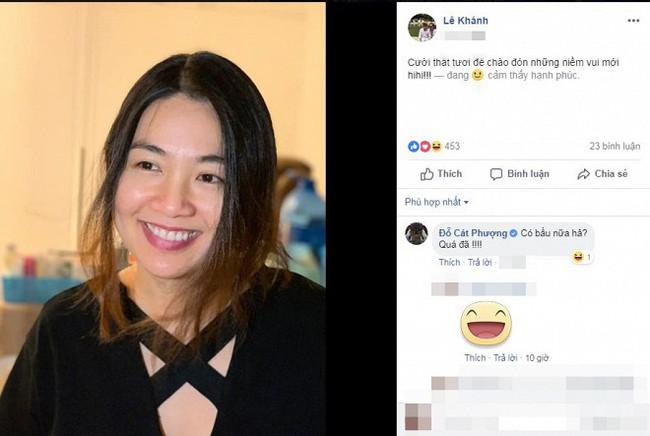 Con trai mới hơn 3 tháng, nữ diễn viên Lê Khánh đã dính bầu tập 2? - Ảnh 1.