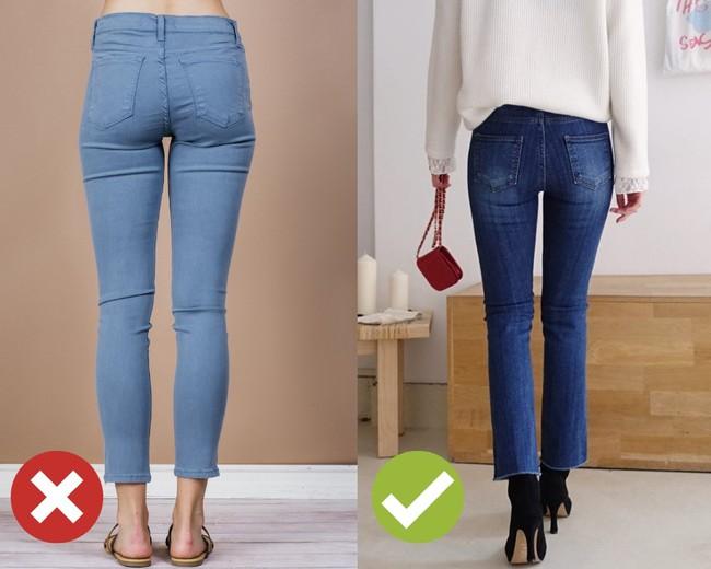 3 lỗi diện quần jeans không khiến cặp chân ngắn hơn thì cũng dễ đưa bạn vào tình huống kém duyên, nhạy cảm - Ảnh 3.