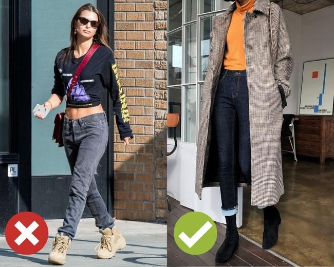 3 lỗi diện quần jeans không khiến cặp chân ngắn hơn thì cũng dễ đưa bạn vào tình huống kém duyên, nhạy cảm - Ảnh 1.
