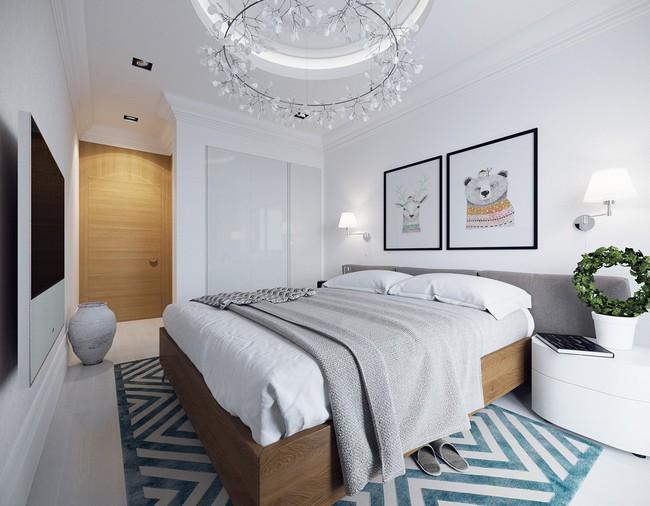 Tư vấn thiết kế căn hộ diện tích 70m² dành cho chủ nhân trẻ tuổi năng động - Ảnh 10.