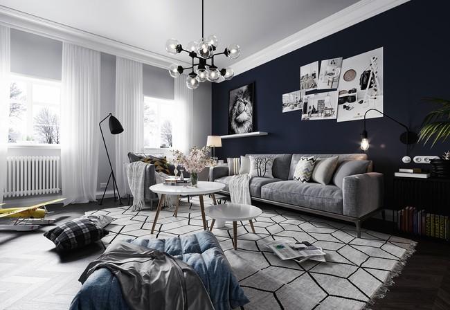 Tư vấn thiết kế căn hộ diện tích 70m² dành cho chủ nhân trẻ tuổi năng động - Ảnh 2.