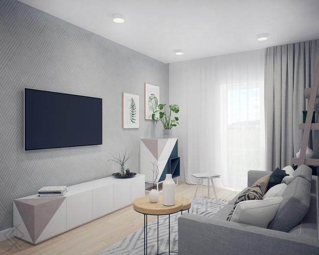 Tư vấn thiết kế căn hộ diện tích 70m² dành cho chủ nhân trẻ tuổi năng động - Ảnh 4.