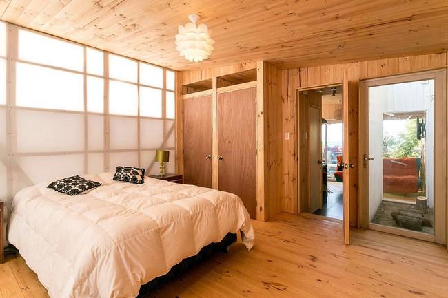 Ngôi nhà hot rần rần vì diện tích cực nhỏ và tiết kiệm chi phí nhờ làm từ chất liệu gỗ và Polycarbonate - Ảnh 9.