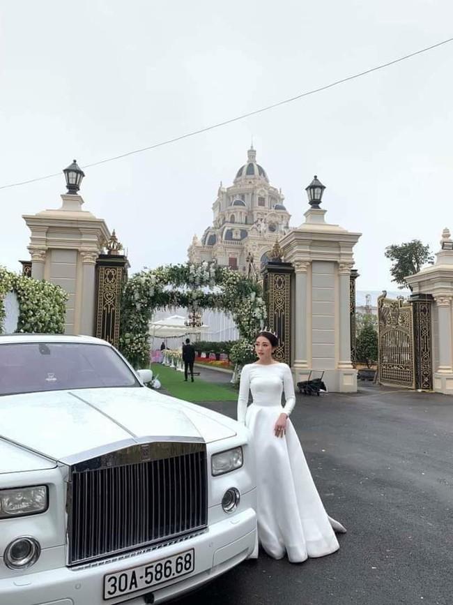 Nhan sắc lộng lẫy, gia thế đáng gờm của cô dâu sống trong lâu đài, đám cưới ngập vàng ở Nam Định - Ảnh 1.