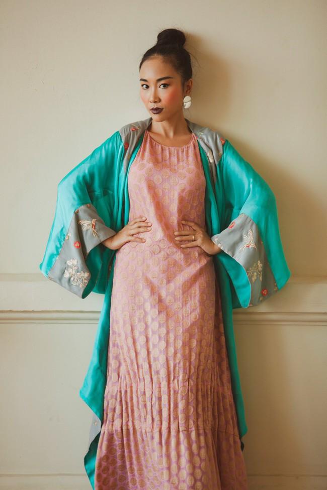 Mẹ Đoan Trang lần đầu thử sức làm người mẫu cùng con gái - Ảnh 7.