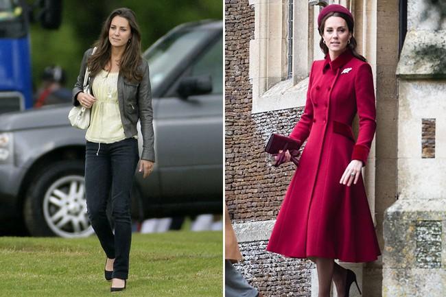 """Kate Middleton, Meghan Markle… quá khác biệt trong ảnh """"10 năm nhìn lại"""": không chỉ xinh hơn mà style cũng nâng tầm đáng kể - Ảnh 1."""
