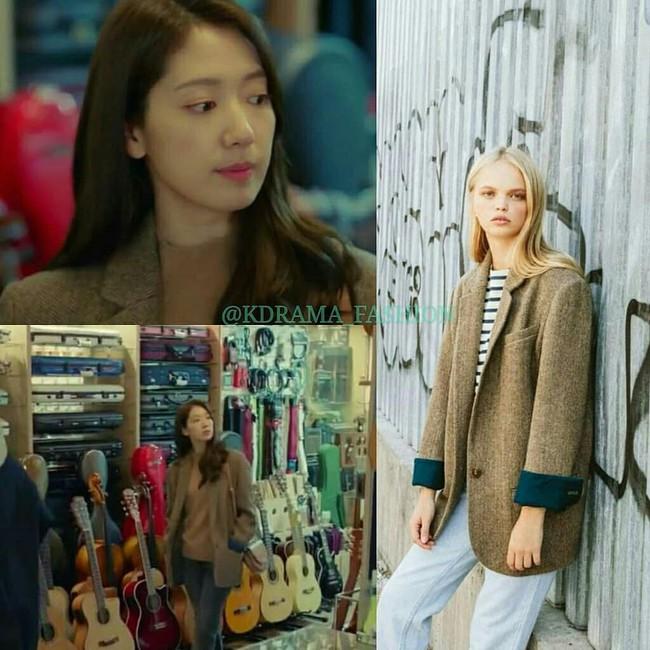 """Nàng công sở học được vài tips mặc áo khoác từ cô nàng Park Shin Hye trong """"Hồi Ức Alhambra"""" - Ảnh 5."""