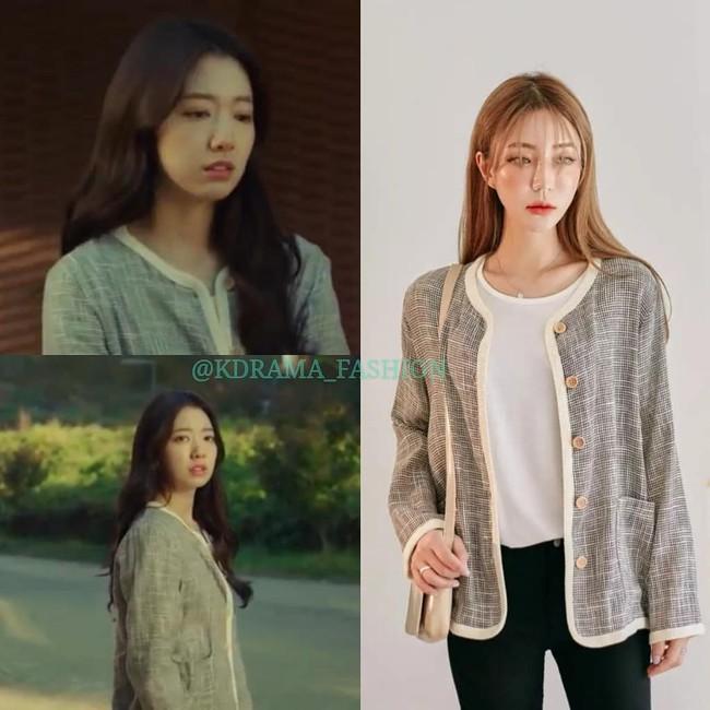 """Nàng công sở học được vài tips mặc áo khoác từ cô nàng Park Shin Hye trong """"Hồi Ức Alhambra"""" - Ảnh 3."""