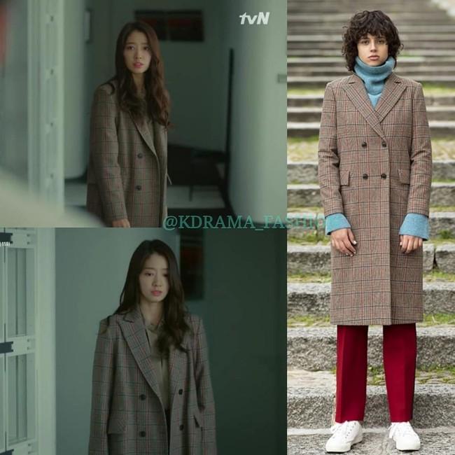 """Nàng công sở học được vài tips mặc áo khoác từ cô nàng Park Shin Hye trong """"Hồi Ức Alhambra"""" - Ảnh 8."""