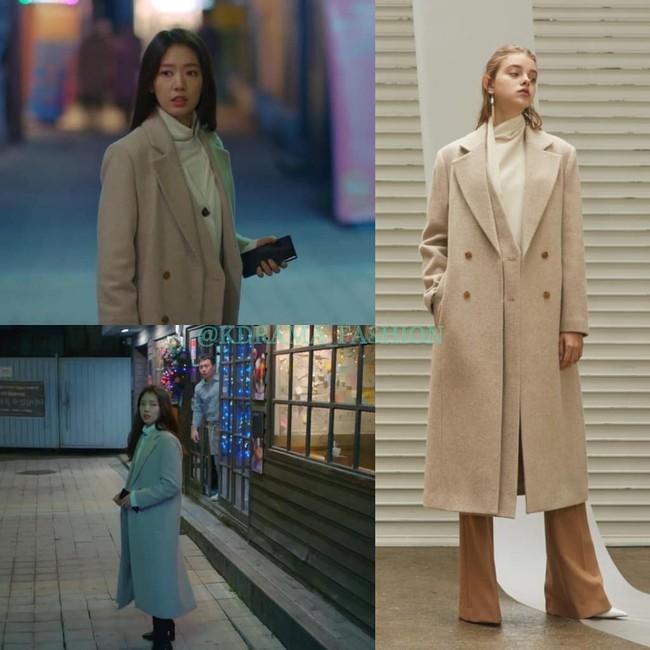 """Nàng công sở học được vài tips mặc áo khoác từ cô nàng Park Shin Hye trong """"Hồi Ức Alhambra"""" - Ảnh 10."""