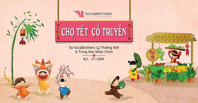 Loạt hội chợ Tết không thể chất hơn để mua sắm đón Xuân ở Hà Nội, Sài Gòn - Ảnh 3.