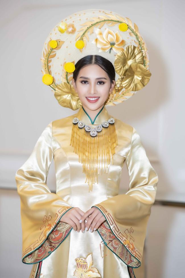 Hoa hậu Tiểu Vy quyền lực như Hoàng hậu bên cạnh Ái phi Phương Nga, Thúy An - Ảnh 4.