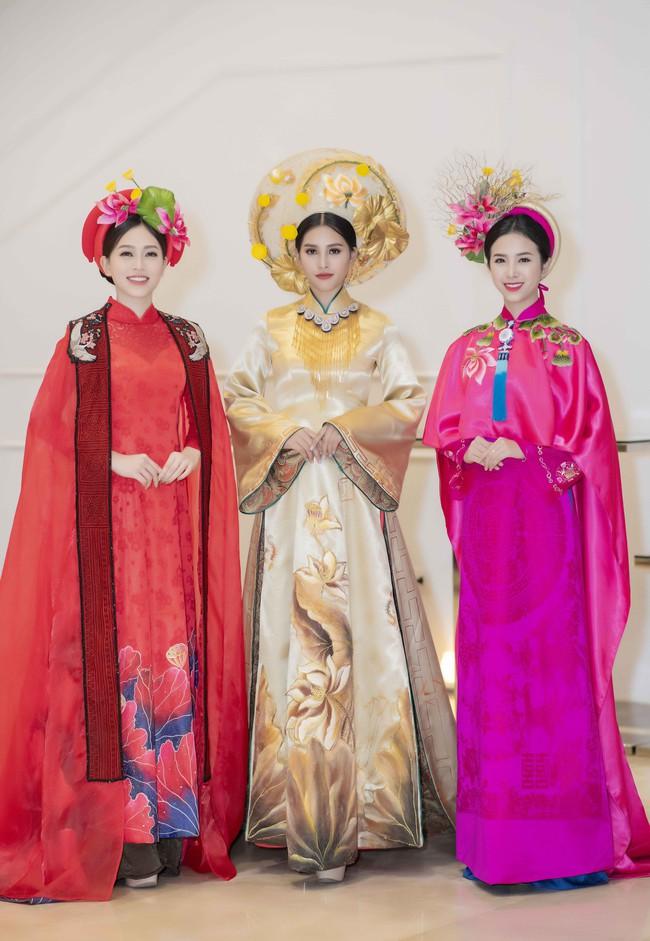 Hoa hậu Tiểu Vy quyền lực như Hoàng hậu bên cạnh Ái phi Phương Nga, Thúy An - Ảnh 2.