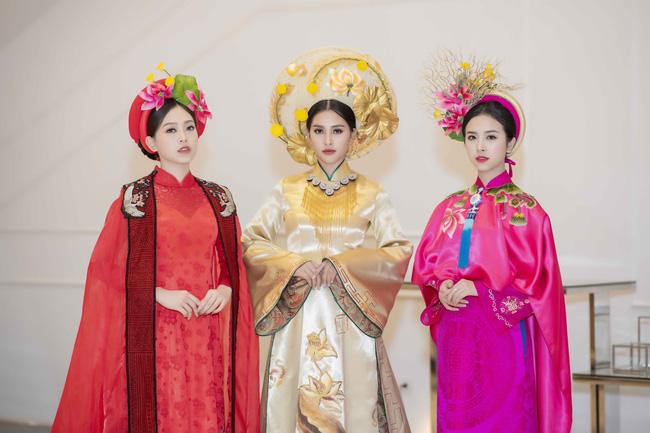 Hoa hậu Tiểu Vy quyền lực như Hoàng hậu bên cạnh Ái phi Phương Nga, Thúy An - Ảnh 1.