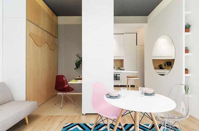 25 phòng ăn cho căn hộ nhỏ vừa đẹp lại vừa tiết kiệm không gian - Ảnh 11.