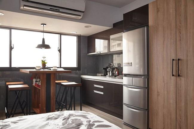 25 phòng ăn cho căn hộ nhỏ vừa đẹp lại vừa tiết kiệm không gian - Ảnh 4.