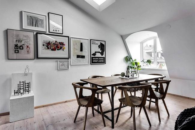 25 phòng ăn cho căn hộ nhỏ vừa đẹp lại vừa tiết kiệm không gian - Ảnh 7.