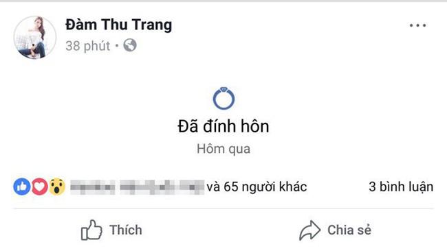 Mới làm đám hỏi, Đàm Thu Trang đã có hành động cực gắt khẳng định chủ quyền với Cường Đô La - Ảnh 3.