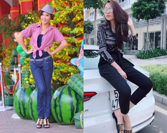 Dù ở ẩn khỏi showbiz nhưng sự thay đổi nhan sắc và phong cách của Đàm Thu Trang khiến ai cũng bất ngờ - Ảnh 4.