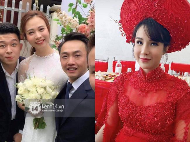 Đàm Thu Trang diện áo dài trắng, make up nhẹ như không, đơn giản hơn hẳn so với 2 cô bạn thân trước đó - Ảnh 6.