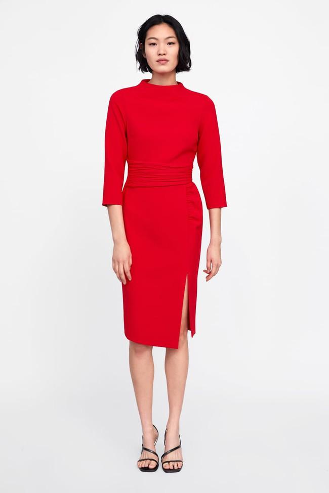Nghía qua 15 mẫu váy từ Zara, Mango, Topshop, các nàng thế nào cũng chọn được chân ái để tha hồ bung lụa đón Tết - Ảnh 12.