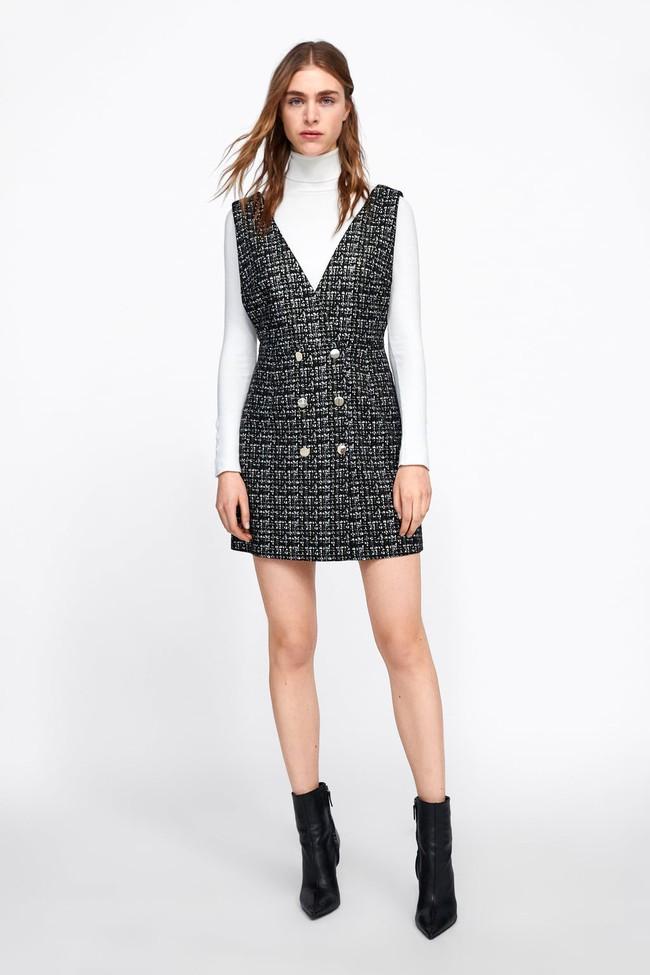 Nghía qua 15 mẫu váy từ Zara, Mango, Topshop, các nàng thế nào cũng chọn được chân ái để tha hồ bung lụa đón Tết - Ảnh 15.