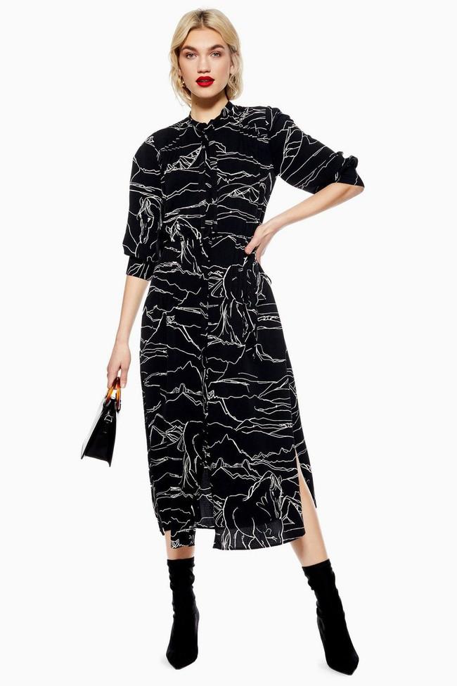 Nghía qua 15 mẫu váy từ Zara, Mango, Topshop, các nàng thế nào cũng chọn được chân ái để tha hồ bung lụa đón Tết - Ảnh 7.
