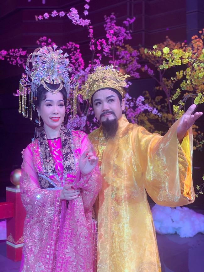 Táo Quân miền Nam: Hé lộ tạo hình lộng lẫy của Thiên Hậu Trịnh Kim Chi  - Ảnh 5.